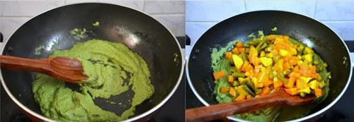 Mixed vegetable sagu recipe