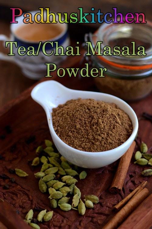 Indian Tea Masala Powder Recipe