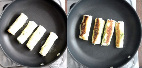 How to make Bread Paneer Rolls