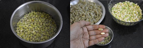Field Beans Kootu Recipe