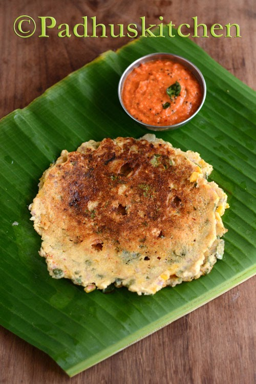 Pumpkin Adai Recipe
