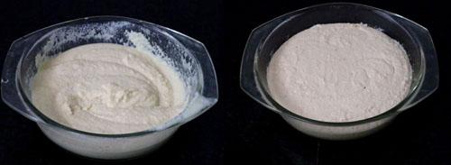 handvo fermented batter