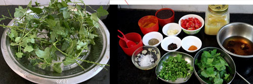 ingredients for thuthuvalai rasam