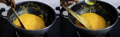 almond halwa recipe