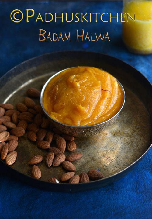 Badam Halwa-Almond Halwa