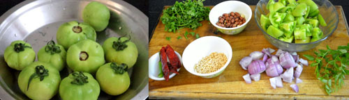 raw tomato chutney ingredients