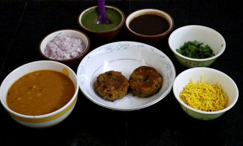 how to make ragda patties