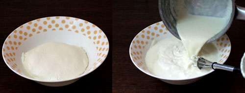 bhapa doi recipe